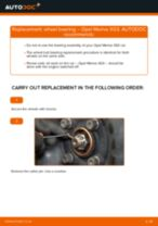 How to replace and adjust Deflection / Guide Pulley, timing belt : free pdf guide