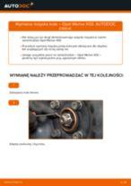 Jak wymienić łożysko koła przód w Opel Meriva X03 - poradnik naprawy