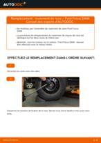 Comment changer : roulement de roue arrière sur Ford Focus DAW - Guide de remplacement