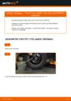 bak och fram Hjullager FORD FOCUS (DAW, DBW) | PDF instruktioner för utbyte