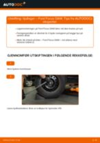 Slik bytter du hjullager bak på en Ford Focus DAW – veiledning