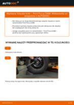 Jak wymienić łożysko koła tył w Ford Focus DAW - poradnik naprawy