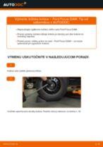 Ako vymeniť zadné ložisko kolesa na Ford Focus DAW – návod na výmenu