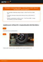 Kako zamenjati avtodel kolesni ležaji zadaj na avtu Ford Focus DAW – vodnik menjave