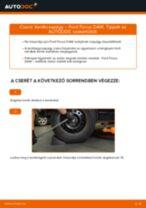 Hátsó kerékcsapágy-csere Ford Focus DAW gépkocsin – Útmutató