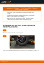 Wie Zubehörsatz, Scheibenbremsbelag FORD FOCUS tauschen und einstellen: PDF-Tutorial