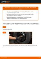 Jak wymienić łożysko koła przód w Ford Focus DAW - poradnik naprawy