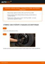 Manuálna PDF na údržbu FOCUS