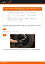 Kako zamenjati avtodel kolesni ležaji spredaj na avtu Ford Focus DAW – vodnik menjave