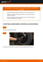 Kuidas vahetada Ford Focus DAW esi-rattalaagri – õpetus