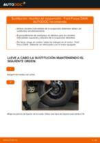 Cómo cambiar: muelles de suspensión de la parte trasera - Ford Focus DAW | Guía de sustitución