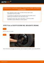 Sostituzione Cuscinetto mozzo ruota FORD FOCUS: pdf gratuito