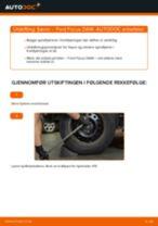 Slik bytter du fjærer bak på en Ford Focus DAW – veiledning