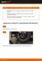 Kako zamenjati avtodel vzmeti zadaj na avtu Ford Focus DAW – vodnik menjave