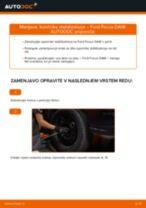 Kako zamenjati avtodel končnik stabilizatorja spredaj na avtu Ford Focus DAW – vodnik menjave