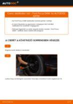 Elülső stabilizátor rúd-csere Ford Focus DAW gépkocsin – Útmutató