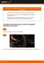 Wie Ford Focus DAW Koppelstange vorne wechseln - Schritt für Schritt Anleitung