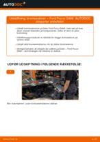Udskift bremseskiver bag - Ford Focus DAW | Brugeranvisning