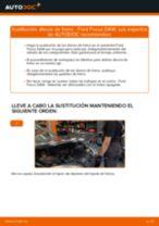 Cómo cambiar: discos de freno de la parte trasera - Ford Focus DAW | Guía de sustitución