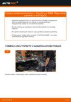 Ako vymeniť zadné brzdové kotúče na Ford Focus DAW – návod na výmenu