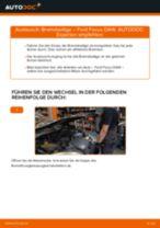 Beheben Sie einen FORD Bremsbeläge Keramik Defekt mit unserem Handbuch