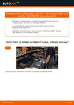 Comment changer : plaquettes de frein arrière sur Ford Focus DAW - Guide de remplacement