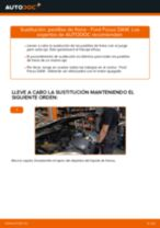 Cómo cambiar: pastillas de freno de la parte trasera - Ford Focus DAW | Guía de sustitución