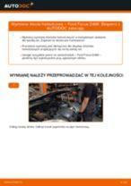 Jak wymienić klocki hamulcowe tył w Ford Focus DAW - poradnik naprawy