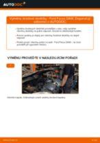 Jak vyměnit přední a zadní Brzdové Destičky FORD udělej si sám - online návody pdf
