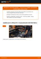 Kako zamenjati avtodel zavorne ploščice zadaj na avtu Ford Focus DAW – vodnik menjave
