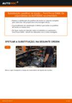 Substituição Jogo de pastilhas para travão de disco FORD FOCUS: pdf gratuito