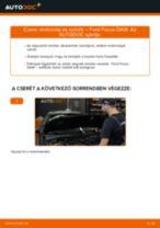 Motorolaj és szűrők-csere Ford Focus DAW gépkocsin – Útmutató