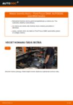 Kā nomainīt: aizmugures bremžu klučus Ford Focus DAW - nomaiņas ceļvedis