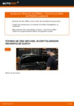Wie Motorölfilter auto ersatz beim FORD FOCUS (DAW, DBW) wechseln - Handbuch online