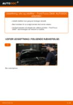 Udskift motorolie og filter - Ford Focus DAW | Brugeranvisning