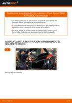 Cómo cambiar: amortiguador de maletero - Ford Focus DAW | Guía de sustitución