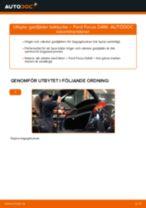 Byta gasfjäder baklucka på Ford Focus DAW – utbytesguide