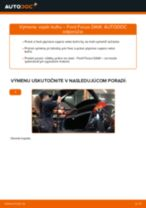 Ako vymeniť vzpěry kufru na Ford Focus DAW – návod na výmenu