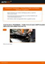 Hinweise des Automechanikers zum Wechseln von FORD Ford Focus DAW 1.8 Turbo DI / TDDi Luftfilter