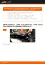 Comment changer : jambe de suspension avant sur Ford Focus DAW - Guide de remplacement