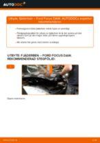 Byta fjäderben fram på Ford Focus DAW – utbytesguide