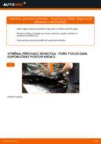 Jak vyměnit přední pérovací jednotka na Ford Focus DAW – návod k výměně