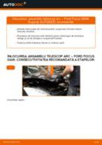 Cum să schimbați: ansamblu telescop arc din față la Ford Focus DAW | Ghid de înlocuire