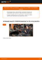 Jak wymienić filtr powietrza w Ford Focus DAW - poradnik naprawy