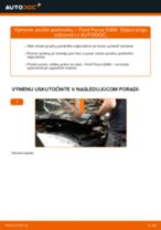 Ako vymeniť predné pružina podvozku na Ford Focus DAW – návod na výmenu