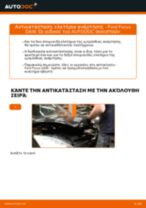 Πώς να αλλάξετε ελατήρια ανάρτησης εμπρός σε Ford Focus DAW - Οδηγίες αντικατάστασης