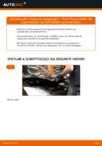 Como mudar molas de suspensão da parte dianteira em Ford Focus DAW - guia de substituição