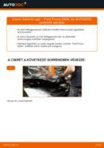 Elülső futómű rugó-csere Ford Focus DAW gépkocsin – Útmutató