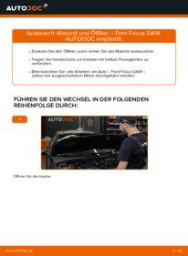 Wie der Wechsel durchführt wird: Ölfilter 1.6 16V Ford Focus Mk1 tauschen