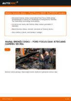 Kā nomainīt: priekšas bremžu diskus Ford Focus DAW - nomaiņas ceļvedis